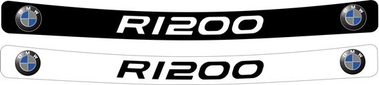 Picture of BMW F1200 GS Helmet Visor Decal / Sticker