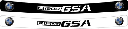 Picture of BMW F1200 GSA Helmet Visor Decal / StickerA