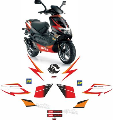 Picture of Aprilia SR50 2004 Ditech replacement Decals / Stickers