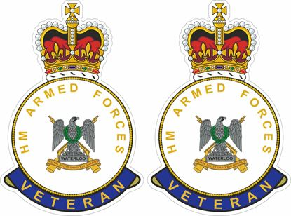 Picture of HM Royal Scots Dragoon Guards Veteran Stickers