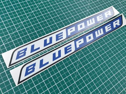"Picture of Isuzu D-Max ""Blue Power"" Decals / Stickers"