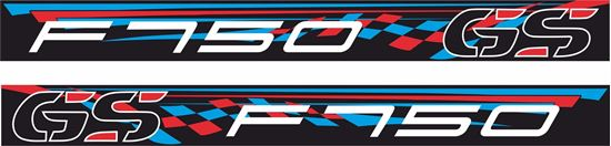 Picture of BMW F750 GS Decals / Stickers