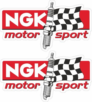 "Picture of ""NGK Motor Sport"" Decals / Stickers"