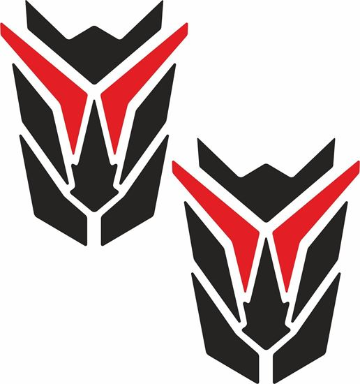 Picture of Transformer style Mud Guard / Panel Decals / Stickers