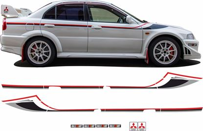 Picture of Mitsubishi Lancer Evolution  6 Tommi Makinen FULL GRAPHICS KIT
