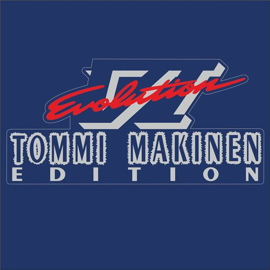 """Picture of Mitsubishi Evolution 6 """"Tommi Makinen"""" replacement Decal / Sticker"""