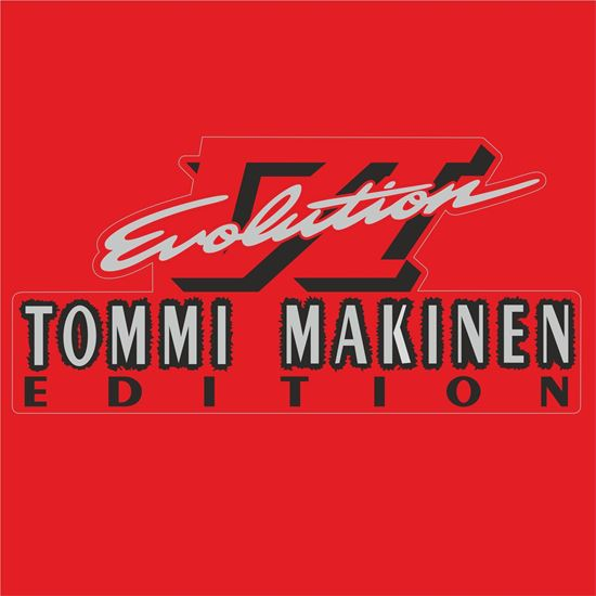"Picture of Mitsubishi Evolution 6 ""Tommi Makinen"" replacement Decal / Sticker"