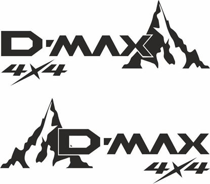 Picture of Isuzu D-Max 4x4 Decals / Stickers
