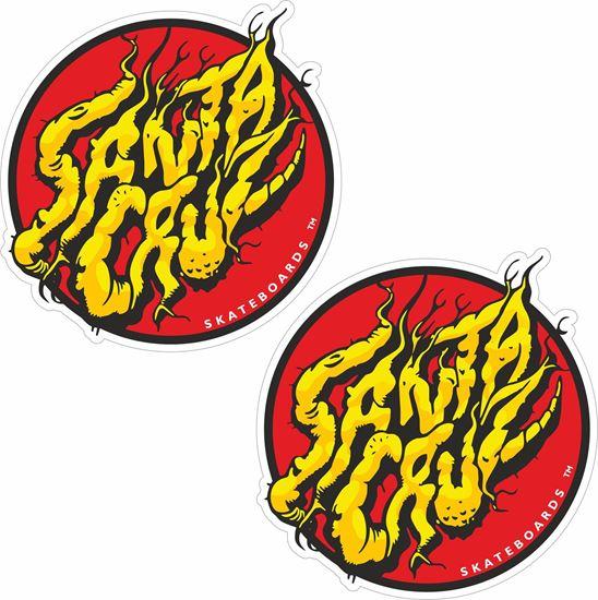 "Picture of ""Santa Cruz""  Decals / Stickers"