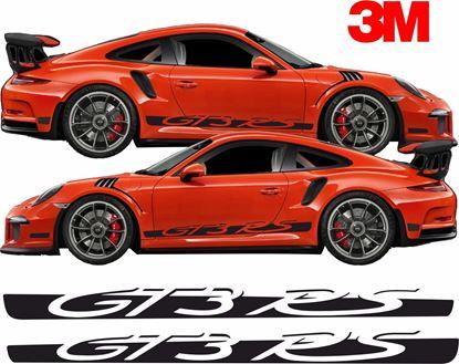 Picture of Porsche 991 GT3 RS side Stripes / Stickers 3M SCOTCHCAL VINYL