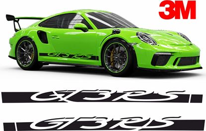 Picture of Porsche 991 GT3 RS side Stripes / Stickers 3M SCOTCHCAL