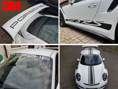 Picture of Porsche 991  GT3RS full Graphics 3M Scotchcal