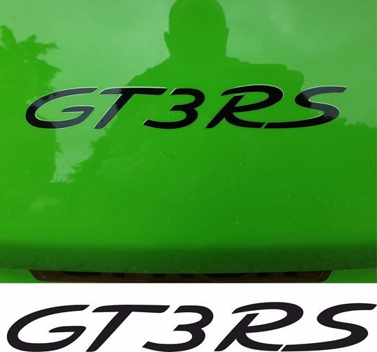 Picture of 991 GT3 RS replacement rear Decal / Sticker