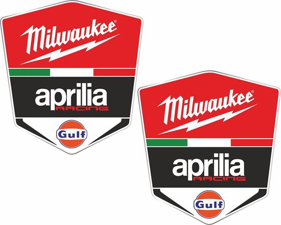 Picture of Aprilia Racing Milwaukee Decals / Stickers