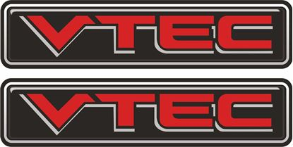 Picture of VTEC 100mm Exterior Gel Badges