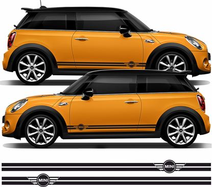 Picture of Mini Hatchback side Stripes / Stickers