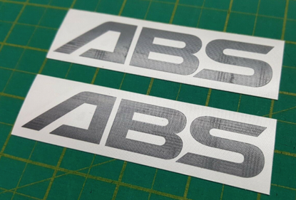 Picture of Nissan ABS replacement Decals / Stickers