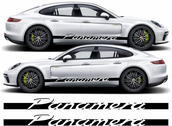 Picture of Panamera side stripes / Stickers