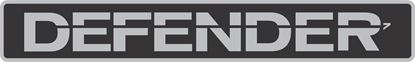 Picture of Land Rover Defender 110 / 90 replacement grill panel Decal / Sticker