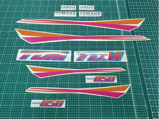 Picture of Yamaha TDM 850 1995 replacement Decals / Stickers