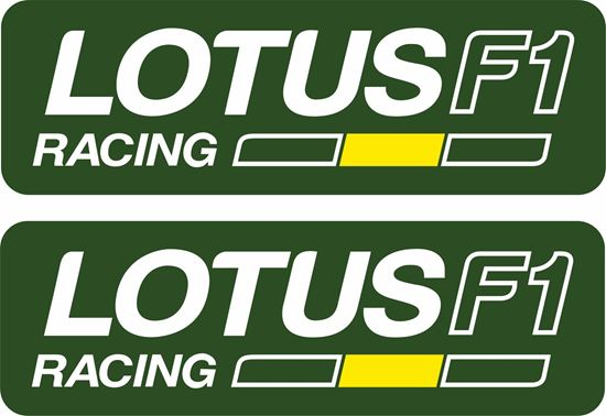 Picture of Lotus F1 Racing  Decals / Stickers
