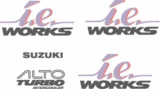 Picture of Suzuki Alto Turbo i.e. Works replacement  Decals / Stickers