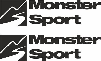 """Picture of """"Monster Sport""""  Decals / Stickers"""