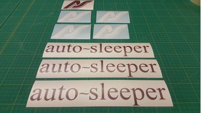 Picture of Auto - sleeper T25 / T3 restoration Decals / Stickers