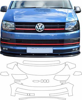 Picture of VW T6 & T6 Multivan Paint Protection Film (FRONT)