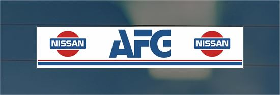 Picture of AGF Dealer rear glass Sticker