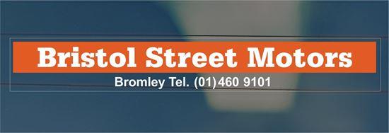 Picture of Bristol Street Motors - Bromley Dealer rear glass Sticker