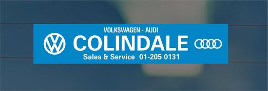 Picture of Colindale - London Dealer rear glass Sticker