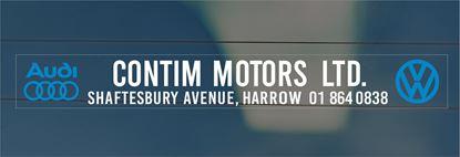 Picture of Contim Motors Ltd - London Dealer rear glass Sticker