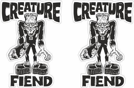 Picture of Creature Fiend Decals / Stickers