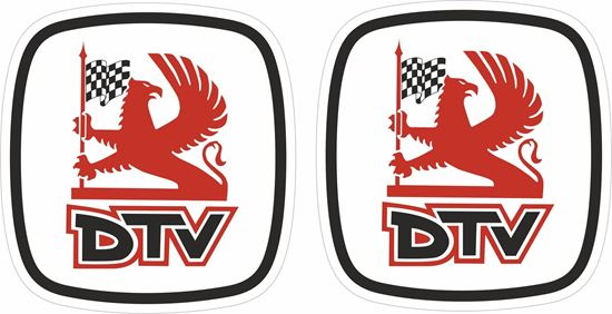 Picture of Vauxhall DTV Decals / Stickers