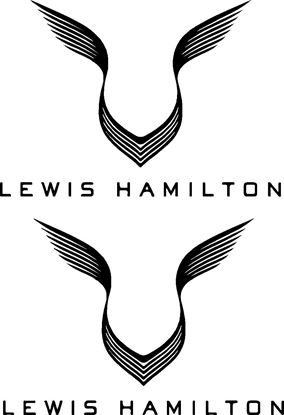 Picture of Lewis Hamilton wings General Panel Decals / Stickers