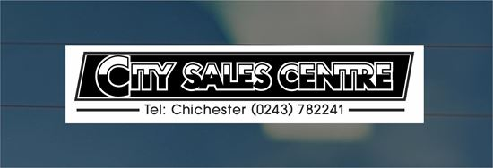 Picture of City Sales Centre - Chichester Dealer rear glass Sticker