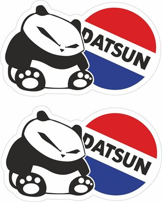 Picture of Datsun Panda Decals / Stickers