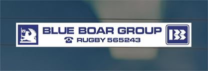 Picture of Blue Boar Group- Rugby Dealer rear glass Sticker