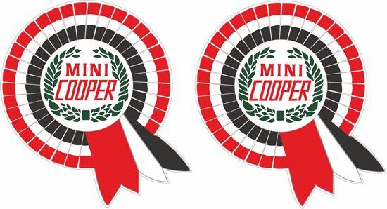 Picture of Classic Mini Cooper Decals / Stickers