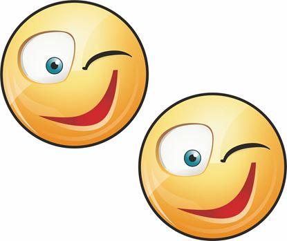 Picture of Emoji Decals / Stickers