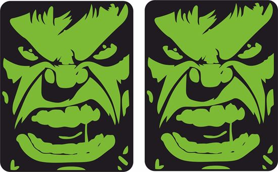 Picture of Hulk Decals / Stickers