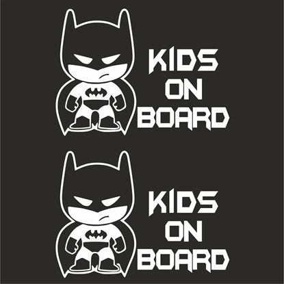 "Picture of ""Kids on Board"" Decals / Stickers"