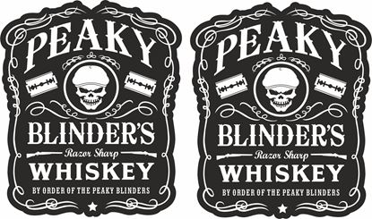Picture of Peaky Blinders Decals / Stickers