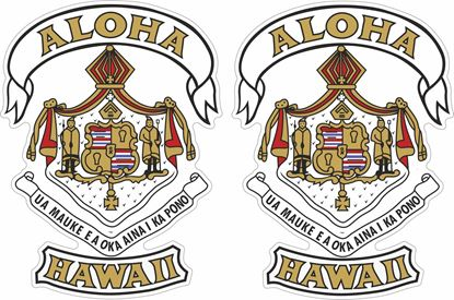 Picture of Aloha Hawaii Decals / Stickers