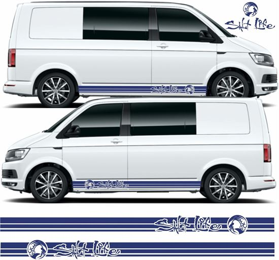 "Picture of VW T5 / T6 ""Salt Life"" Stripes / Stickers"
