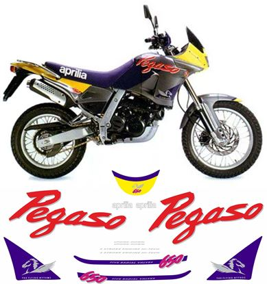 Picture of Aprilia  Pegaso 650 1995 replacement Decals / Stickers