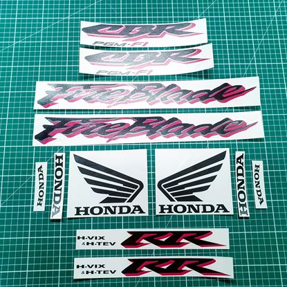 Picture of Honda CBR 929RR Fireblade 2001 replacement Decals / Stickers
