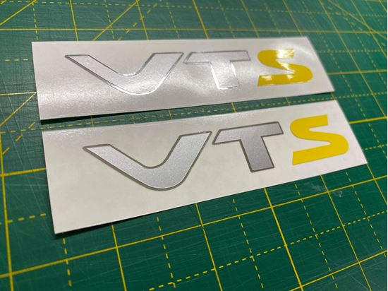 Picture of Citroen Saxo VTS  Decals / Stickers