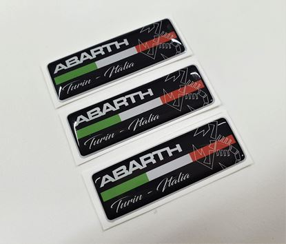 Picture of Fiat  Abarth Turin - Italia  Badges 55mm